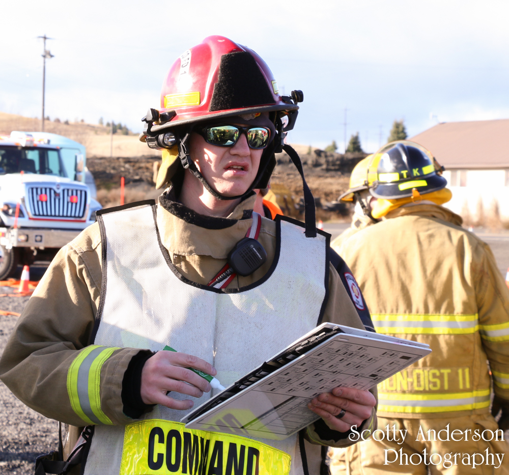 Pullman Fire District 12 Mass Causality Incident Drill
