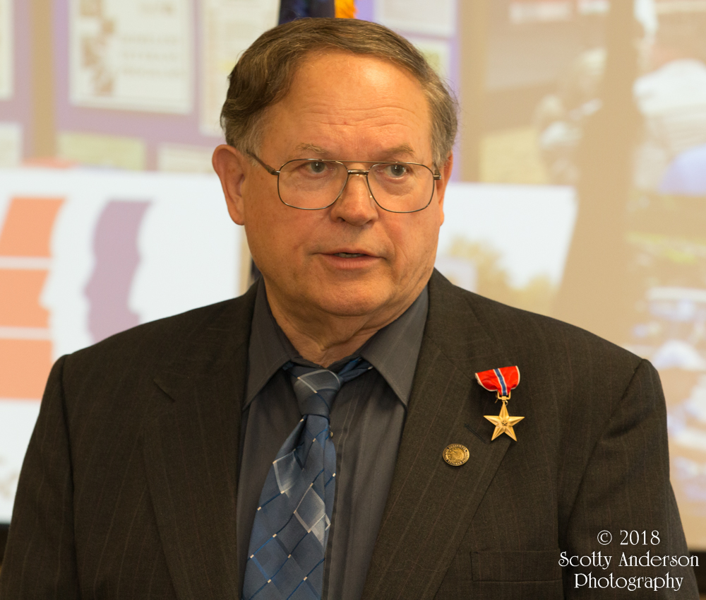 Pete Martin's Bronze Star Ceremony