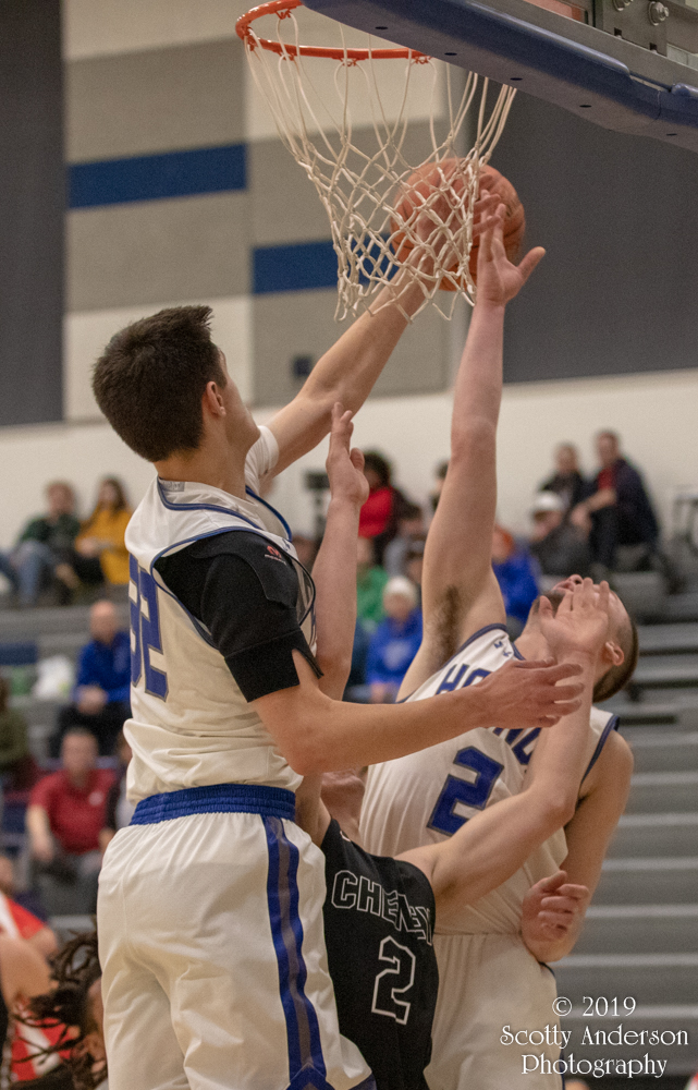 High School Boys Basketball – Pullman vs Cheney – Jan. 4, 2018