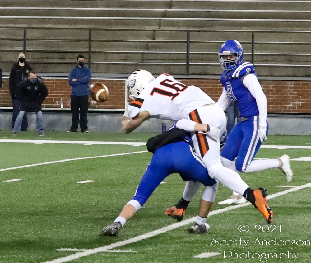 High School Football – Pullman vs West Valley – Mar. 12, 2021