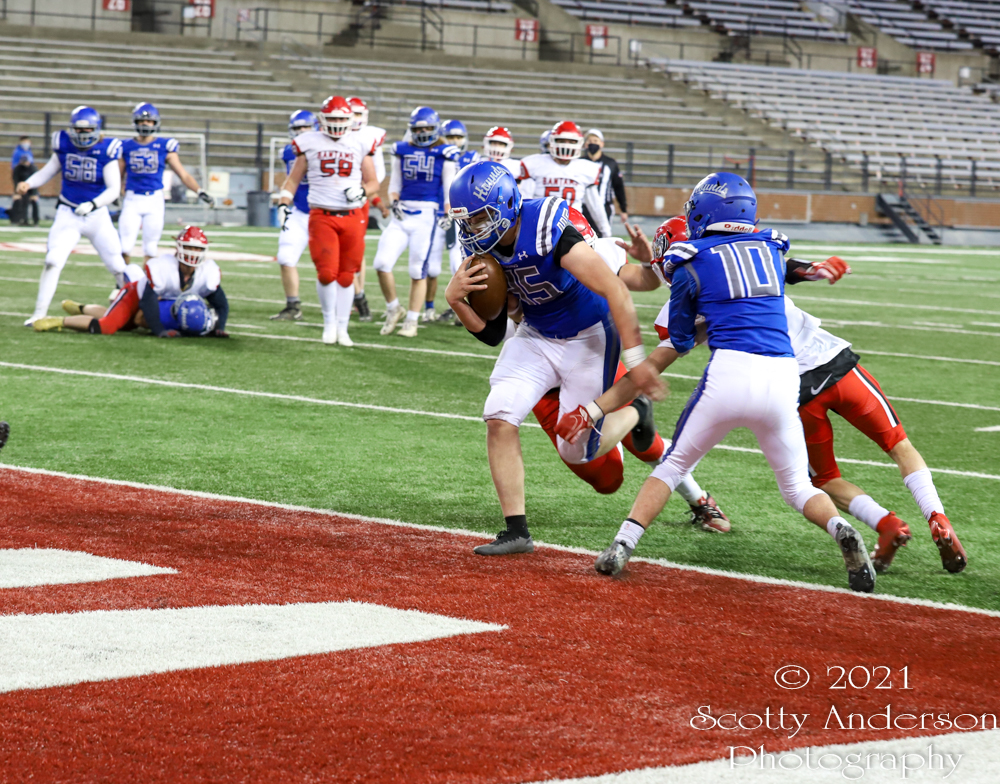 High School Football – Pullman vs Clarkston – Apr. 2, 2021