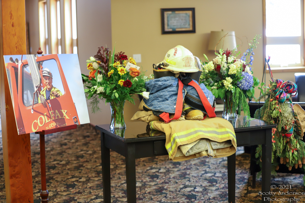 Funeral For Colfax Fire Chief Jim Krouse